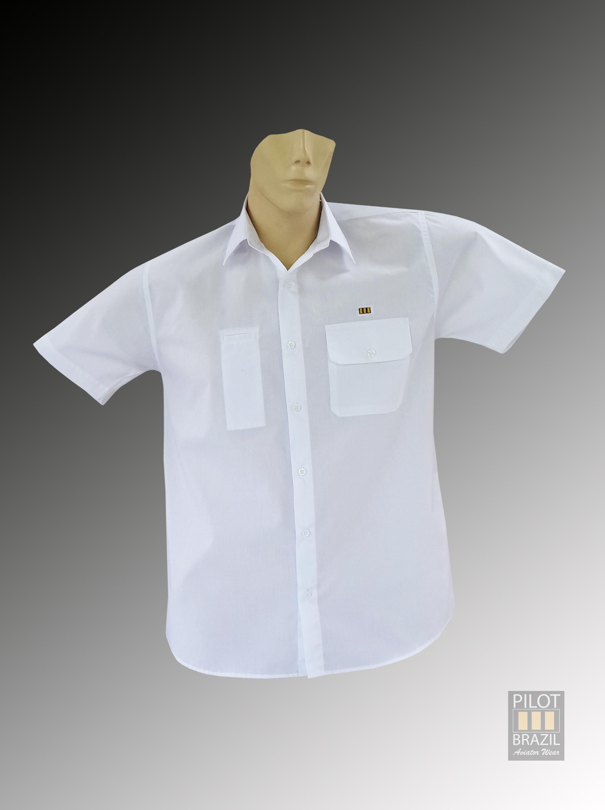 Camisa Cotidiano Branca – Frente